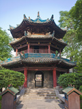 China, Shaanxi, Xi'An, Great Mosque, the Introspection Pavilion Photographic Print by Jane Sweeney
