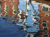 Canal Reflections, Burano, Veneto Region, Italy Photographic Print by Nadia Isakova