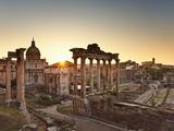 Roman Forum, Rome, Lazio, Italy, Europe Fotodruck von Francesco Iacobelli