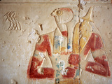 Ramesses Ii Temple (13th Century BC), Abydos, Egypt Fotodruck von Ivan Vdovin
