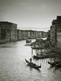 Grand Canal from the Rialto, Venice, Italy Fotografie-Druck von Jon Arnold
