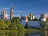 Russia, Moscow, Khamovniki-Area, Novodevichy Monastery Photographic Print by Walter Bibikow