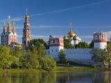 Russia, Moscow, Khamovniki-Area, Novodevichy Monastery Photographic Print by Walter Bibikow