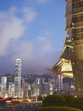 View of Hong Kong Island Skyline from Icc, Hong Kong, China Photographic Print by Ian Trower