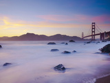 USA, California, San Francisco, Golden Gate Bridge from Marshall Beach Photographic Print by Alan Copson