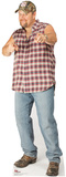 Larry the Cable Guy Pointing Stand Up