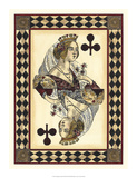Harlequin Cards III Giclee Print by  Vision Studio