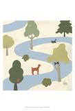 Enchanted Forest I Kunstdrucke von Erica J. Vess