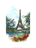 Eiffel Tower - Paris, France Premium Giclee Print by Bruce White