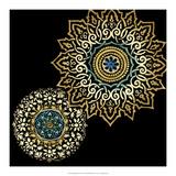 Midnight Rosette I Prints by Chariklia Zarris