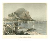 Monte Pellegrino, Palermo Giclee Print by Harry Fenn