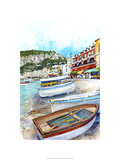 Isle of Capri, Italy Premium Giclee Print by Bruce White