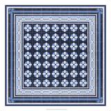 Italian Mosaic in Blue IV Prints