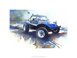 &#39;72 Dune Buggy Premium Giclee Print by Bruce White