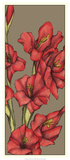 Graphic Flower Panel II Poster by Jennifer Goldberger