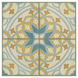 No Embellish* Old World Tiles I Poster by Chariklia Zarris