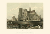 Cathedral of Notre-Dame, Paris Affiches par T. Allom
