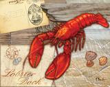 Fresh Catch Lobster Poster von Paul Brent