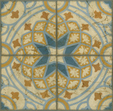 Old World Tiles I Print by Chariklia Zarris