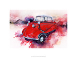 &#39;55 Messerschmitt Premium Giclee Print by Bruce White