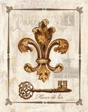 Fleur de Lis Prints by Gregory Gorham