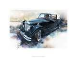 &#39;50 Jaguar Premium Giclee Print by Bruce White