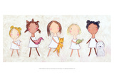 Girls with Pets Art by Carla Sonheim