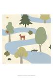 Enchanted Forest II Poster von Erica J. Vess
