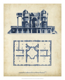 Architectural Blueprint III Prints by Andrew Cook George