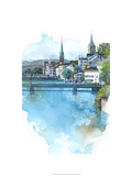 Zurich, Switzerland Premium Giclee Print by Bruce White