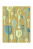 Spring Cutlery I Prints by Vanna Lam