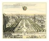 Formal Garden View I Giclée-Druck von Erich Dahlbergh