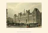 Hotel de Ville, Paris Print by T. Allom
