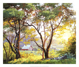 Burnished Landscape Giclee Print by Erin Dertner