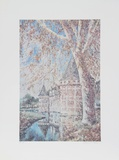 French Castle Collectable Print by William Collier
