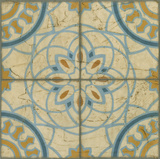 Old World Tiles IV Poster by Chariklia Zarris