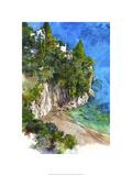 Arienzo Beach - Amalfi Coast, Italy Premium Giclee Print by Bruce White