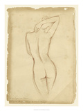 Antique Figure Study I Posters by Ethan Harper