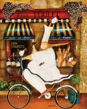 Chef em Paris Poster por Jennifer Garant