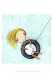 Tire Swing Prints by Carla Sonheim