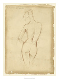 Antique Figure Study II Posters by Ethan Harper