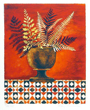 Red Ferns Limited Edition by Mary Faulconer