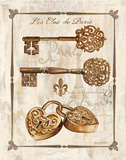 Keys to Paris I Poster by Gregory Gorham