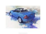 '82 Mercedes SLK Premium Giclee Print by Bruce White
