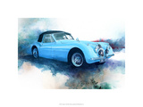 &#39;53 Jaguar Premium Giclee Print by Bruce White