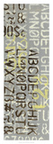 Numbered Letters II Giclee Print by Jennifer Goldberger