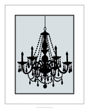 Ornate Chandelier III Premium Giclee Print by Ethan Harper