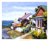 Village Gem Giclee Print by Erin Dertner