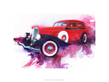 '34 Pierce Arrow Reproduction giclée Premium par Bruce White