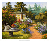 Woodland Garden Giclee Print by Erin Dertner